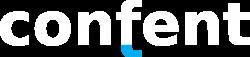 logo Confent white